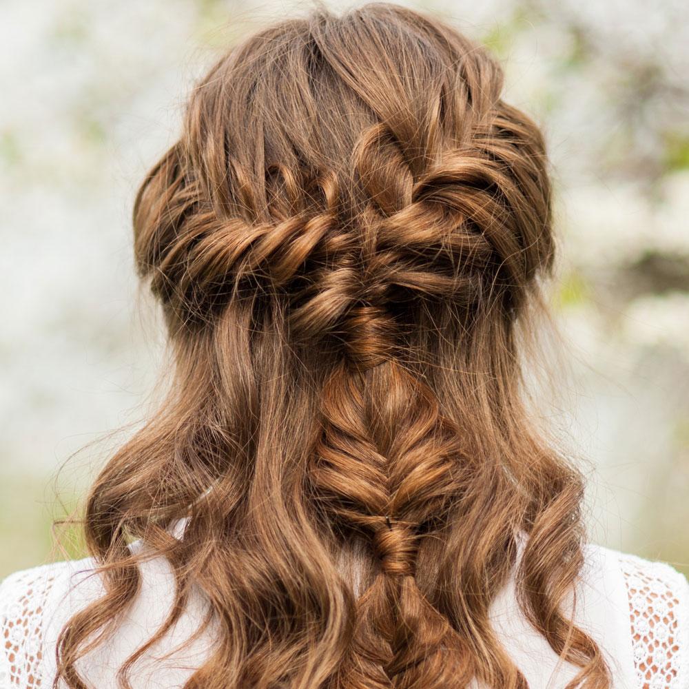 Encuentra El Peinado Perfecto Para El Bautizo De Tu Hijoa - Peinados-para-un-bautizo-de-dia