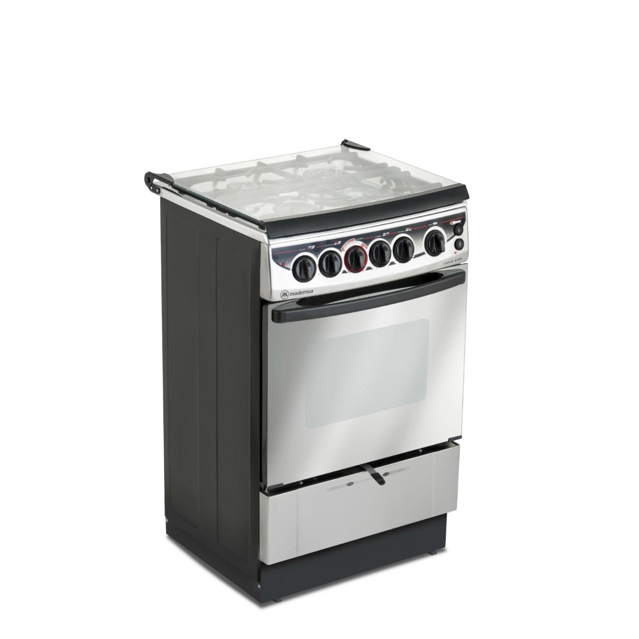 Cocina 4 platos diva 695 cocci n mademsa todo lo que - Cocina encimera teka 4 platos ...