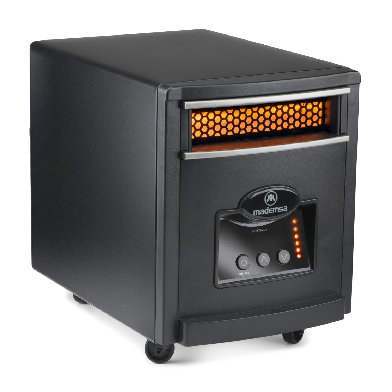 Estufa el ctrica ellektra 1 5 calefacci n mademsa - Calefaccion electrica o gas ...