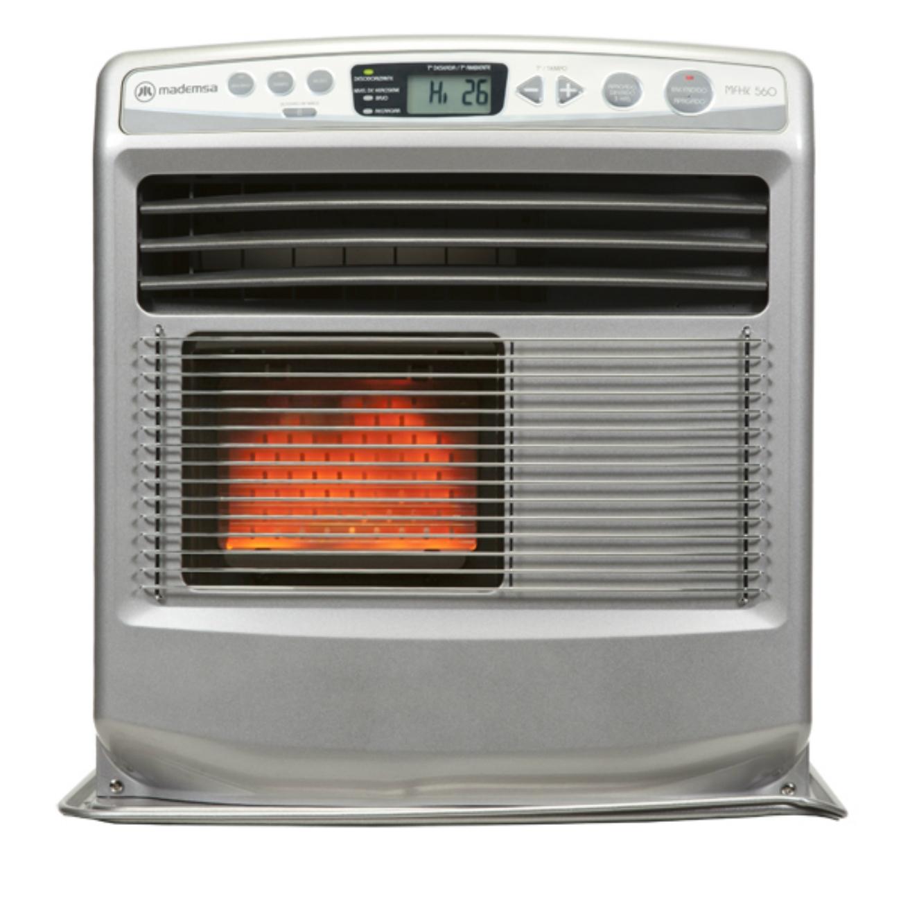 Estufa fan heather mfhk 560 calefacci n mademsa todo - Estufa gas radiante ...