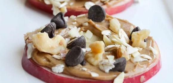 Ricas manzanas con mantequilla de maní • Mademsa - Todo lo que Quiero